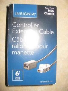 Insignia Controller Extension Cable for NES Classic. Can be used with Wii / Wii U Remote. NEW