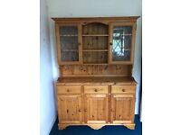 Hand made Cotswold pine Welsh dresser