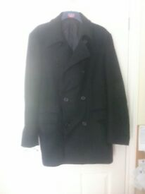 Mans three quarter length coat