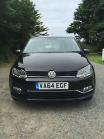 Fantastic Black VW Polo Blue Motion - Only 28,000 Miles