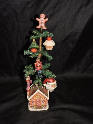 Jim Shore Christmas Joys Are Ever Sweet Tabletop Tree Gingerbread House