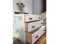 Vintage up cycled chest of drawers