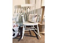 Shabby Chic Rocking Chair - £50