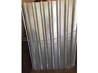 Galvanised Steel Metal Sheet Cladding