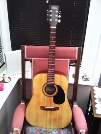 ENCORE STEEL STRING FULL SIZE ACOUSTIC GUITAR