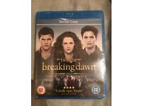 Twilight Breaking Dawn part 2 Blu Ray disc