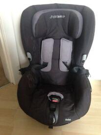Maxi-Cosi Axiss Group 1 Car Seat in Black.