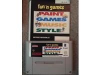 Fun n games Super Nintendo game
