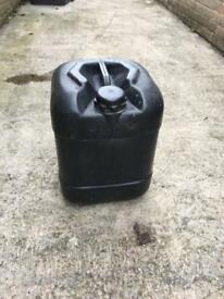 25 ltr oil drum