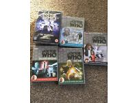 Doctor Who DVDs, new