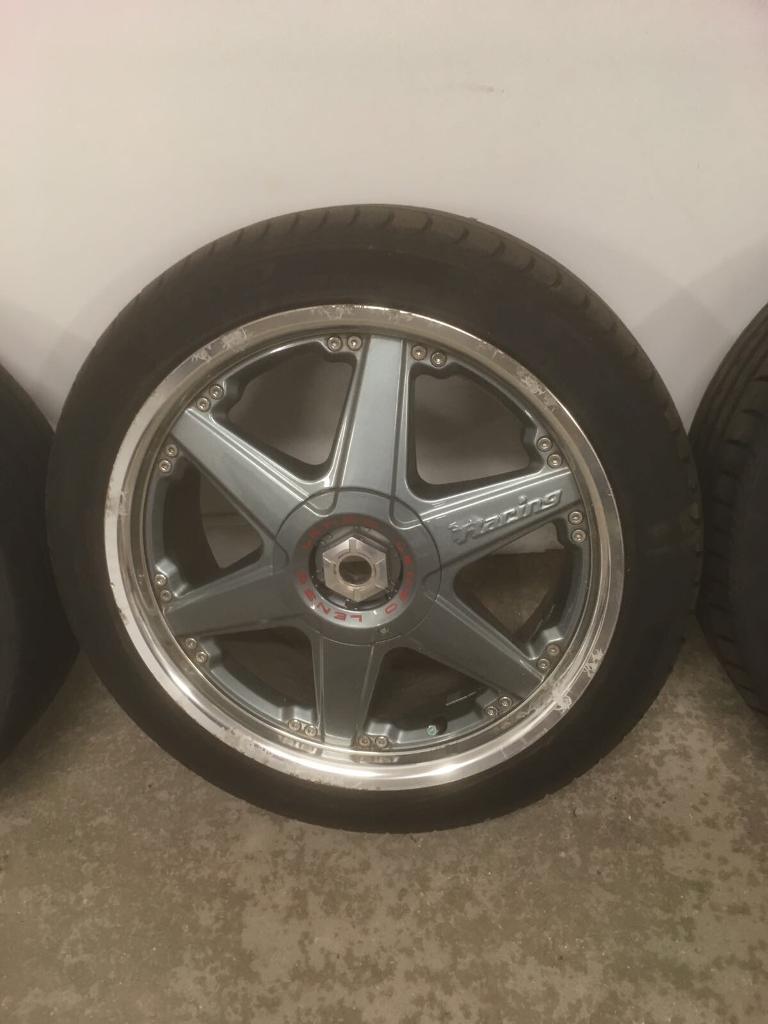 "Lendl Racing 17"" alloys"