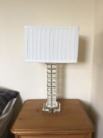 BHS Costa Glass Table Lamp