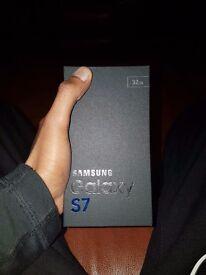 Samsung Galaxy S7 Boxed black onyx 32gb quick sale!!!!