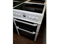 60CM TWIN CAVITY BEKO DOUBLE OVEN CERAMIC COOKER COMES WITH GUARANTEE