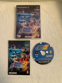 Time Crisis 2 - PS2 - Game - Complete With Manual - Disc Is Mint