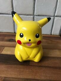 REDUCED Ceramic Pokemon Pikachu Money Box