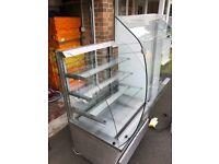 Fridge Display Chiller (inc sliding doors & glass shelves)