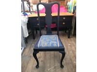 Upcycled bedroom / hall chair