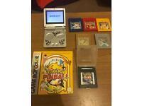 Gameboy SP + Pokémon Bundle