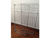 Metal shelves in excellent condition