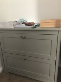 Grey chest of drawers for sale