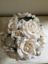 Wedding bouquet (new handmade)