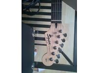 Fender squier electric Guitar affinity series and amp