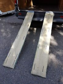 Loading Ramps Steel Lie Flat Non Folding