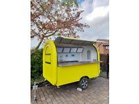 Catering Trailer Food Cart Burger Van 2800x1650x2300