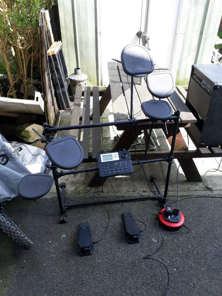Drum kit electronic