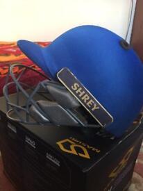 Junior cricket helmet