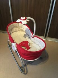 Tiny Love 3-in-1 Rocker Napper in Red