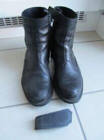 Mens TCX Urban Waterproof motorcycle boots.
