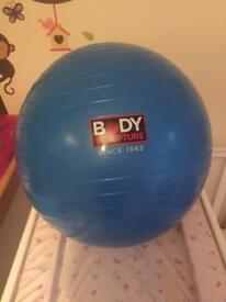 Fitness birthing ball
