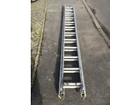 Aluminium 2 section ladder for sale