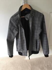 Zara Men's Jacket Medium Grey
