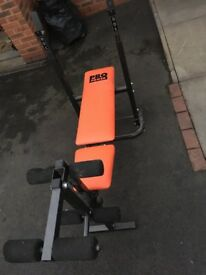 York Foldable Bench- Excellent Condition- £30