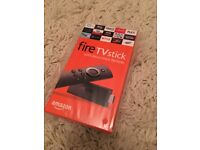 Amazon Fire Stick with Alexa Remote - Brand New and Sealed