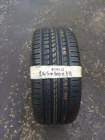 245/40/18 new p-zero rosso tyre