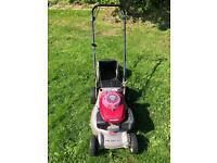 Honda petrol lawnmover