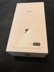 iPhone 8 Plus 256 gb new with box Vodafone work r swap with not 8 u need payextacash 07895033977