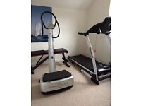 My3 Powerplate & Treadmill
