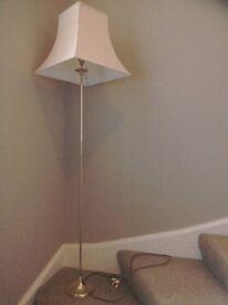 Brass standard lamp £15