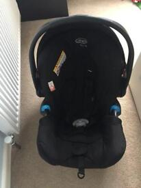 Graco baby car seat and isofix