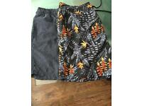 Men's swimming shorts size L
