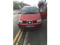 Car seat alhambra 7 seat tdi new front and back break new exaut good running
