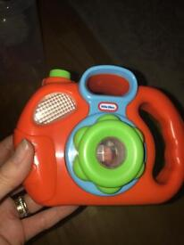 Little tikes camera with sound