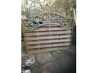 Fence panels 9 trellis panels 3 panels please see add for pricing