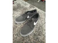 Grey white Nike trainers Size 5.5