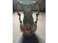 German Glazed Large Decorative Vase
